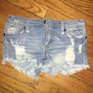 Highway Jean Shorts
